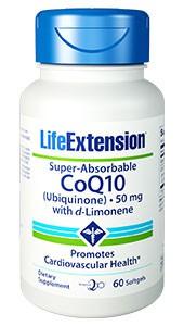 Super absorbierbares CoEnzym Q10 (Ubiquinon) mit d-Limonen