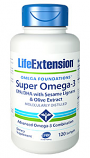 Super Omega-3 EPA/DHA mit Sesam Lignans & Oliven-Extrakt
