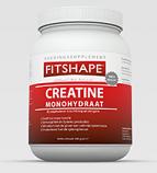 Creatine Monohydrat von FITSHAPE® 500 g Pulver