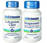 L-Arginin plus Traubenkernextrakt mit Resveratrol & Pterostilben